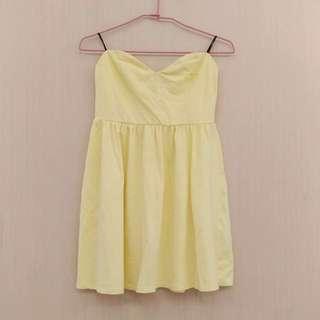 H&M平口小洋裝
