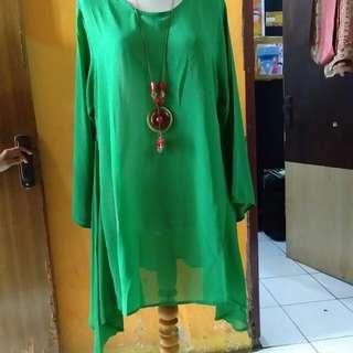 Blouse hijau