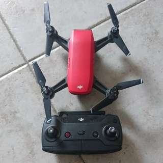 Dji Spark Flymore Combo. (Red)