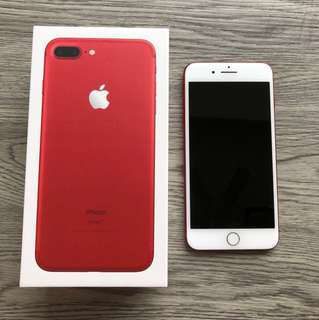 Selling IPhone 7 Plus Red 256gb