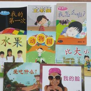 Assorted Chinese Story Books For K2 And Above