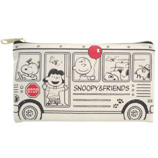 Japan Peanuts Snoopy Pen Pouch (school bus)