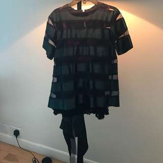 Sacai luxurious top rare find (size 1)