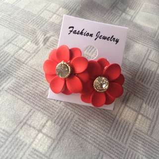 Anting red flower