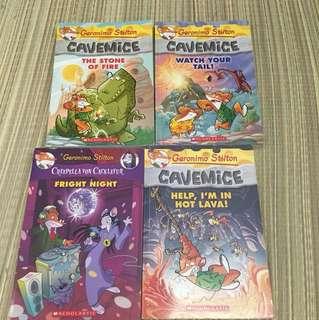 Geronimo books