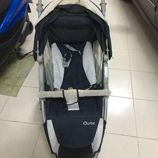 Q.jogger Qute 三大輪嬰兒推車-好推很穩