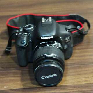 Mint Canon 600D with Extra Battery And kit Lens + Original Bag