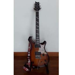 Paul Reed Smith PRS SE Santana Electric Guitar Made in Korea with Upgrades and Accessories