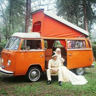 VW Kombi Camper Rent for event