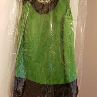 Jessica green dress