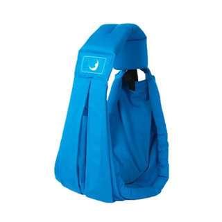 全新彩藍色英國品牌BABASLING嬰兒背帶孭帶