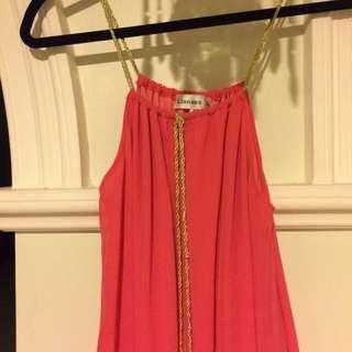 Dissh Orange Dress