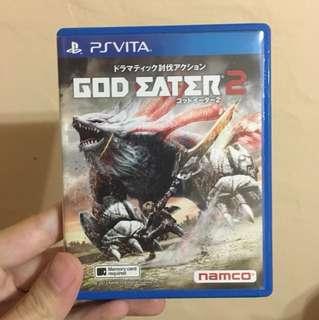 PSVita God Eater 2