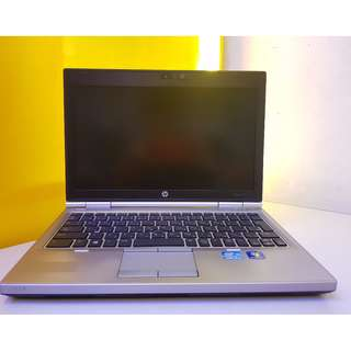 Hp elitebook 2570p core i5 good battery with camera good quality unit