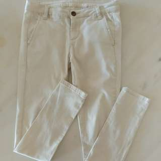 Light Cotton Skinny Pants UK6