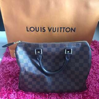 Louis Vuitton Damier Ebene Speedy30