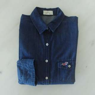 Hollister Denim Shirt S