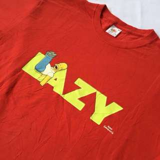 Homer Simpsons Lazy T-Shirt