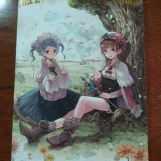 Atelier series official chronicles video game artbook
