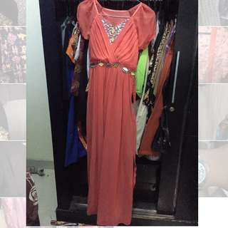 Dress pesta party dress braidsmaid