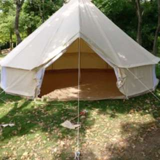 RENT/SELL CANVAS TENT (can fit 10-12 people)
