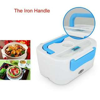 *FREE DELIVERY to WM only / Ready stock, offer* Portable electric lunch box as shown design/color.       Free delivery is applied for this item.
