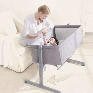 Brand new crowned-love baby crib (compatible mosquito net free)