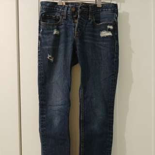 Hollister Distressed Skinnies