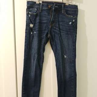 Hollister Distressed Super Skinnies
