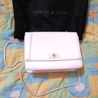 Charles & Keith Bag White