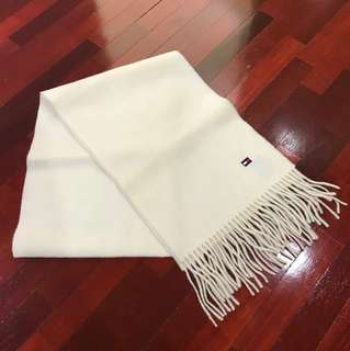 (BRAND NEW) TOMMY HILFIGER unisex wool scarf (Authentic)