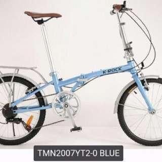 K-Rock摺合式單車Folding Bicycle Pioneer