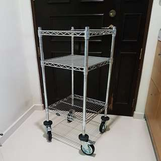Used 3 Tier Trolley with rollers