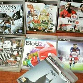 PRELOVED PS3 GAMES SECONDHAND
