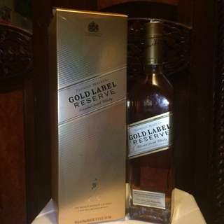 REPRICE! Gold Label by Johnnie Walker