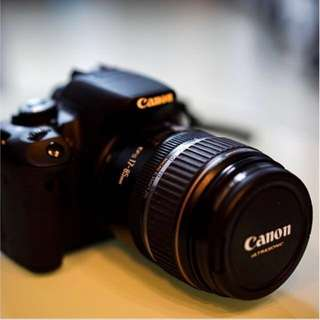 Canon 550D with 17-85mm f4 lens