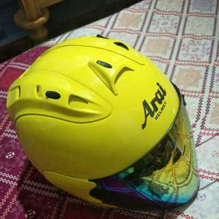 Arai ram4 max yellow ori japan