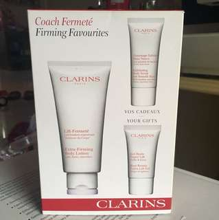 Clarins Extra Firming Body Lotion Favourites set