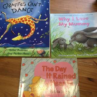 Giraffe can't dance and other books