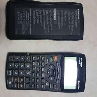SHARP EL-W531S Scientific Calculator