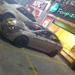 Hyundai accent 2012 m/t gasoline swap to vios honda