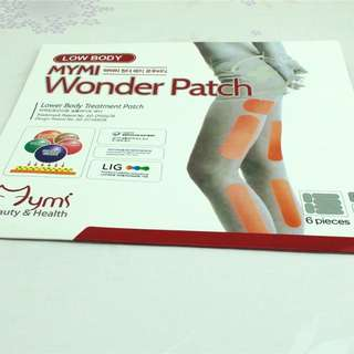 MYMI Wonder Slimming Patch. Famous Korean Brand
