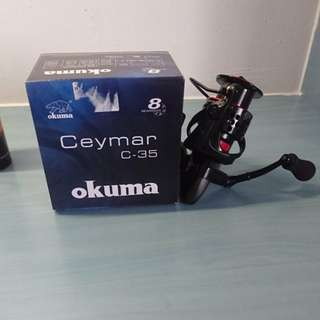 Okuma ceymar c-35 fishing reel