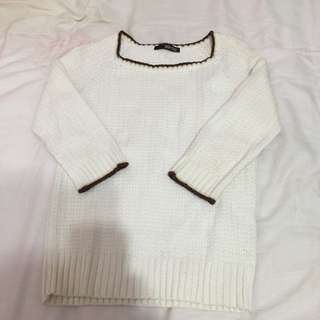 Nonstop 白色針織上衣