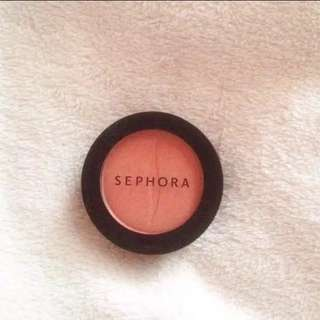 "Sephora Original Blush on ""06 Coral Flush"""