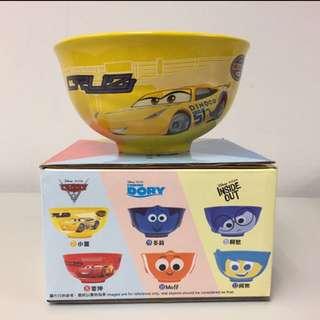 Pixar  Cars 小薑黃碗