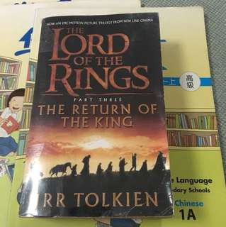 Lord Of The Rings Book 3 Return of the king