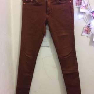 Jeans Hermes Cokelat