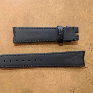 Zenith genuine 18mm alligator strap