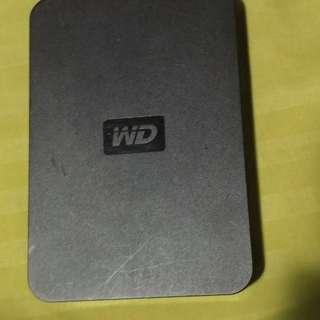 Western Digital 500 GB external hard drive